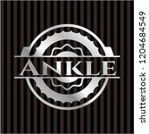 ankle silvery shiny badge | Shutterstock .eps vector #1204684549