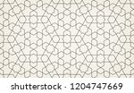 pattern with crossing lines and ... | Shutterstock .eps vector #1204747669