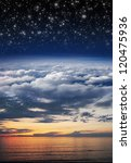 Collage  Ocean  Sunset  Sky ...