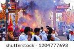 phuket  thailand   october 14 ... | Shutterstock . vector #1204777693