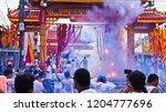 phuket  thailand   october 14 ... | Shutterstock . vector #1204777696