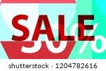 sale banner. off poster design. ... | Shutterstock .eps vector #1204782616