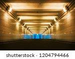 underground pedestrian crossing ... | Shutterstock . vector #1204794466