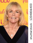 "Small photo of LONDON, UK. October 16, 2018: Linda Robson arriving for the ""ITV Palooza!"" at the Royal Festival Hall, London."