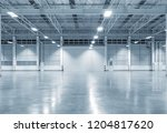 factory building or warehouse... | Shutterstock . vector #1204817620