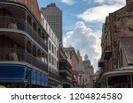 the french quarter in new...   Shutterstock . vector #1204824580