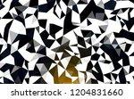 dark yellow vector polygon...   Shutterstock .eps vector #1204831660