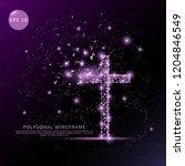Religion Cross Digitally Drawn...