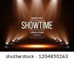scene for presentation.... | Shutterstock .eps vector #1204850263