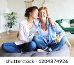lifestyle  family and people... | Shutterstock . vector #1204874926