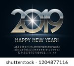 vector mysterious happy new...