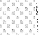 speaker box pattern seamless...   Shutterstock . vector #1204878016