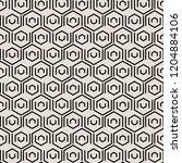 abstract black geometric tiles...   Shutterstock .eps vector #1204884106