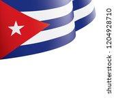 cuba flag  vector illustration...   Shutterstock .eps vector #1204928710