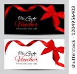 luxury members  gift card...   Shutterstock .eps vector #1204956403