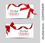 luxury members  gift card... | Shutterstock .eps vector #1204956409
