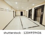 elevator in the house | Shutterstock . vector #1204959436
