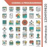coding   programming concept...