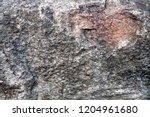uneven surface of big grey... | Shutterstock . vector #1204961680