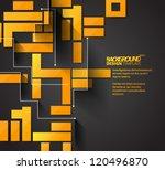 design template   eps10 glossy... | Shutterstock .eps vector #120496870