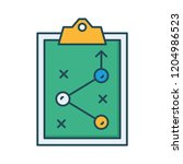 strategy   planning  tactic   | Shutterstock .eps vector #1204986523