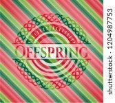 offspring christmas style badge.... | Shutterstock .eps vector #1204987753