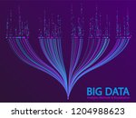 big data statistical analysis... | Shutterstock .eps vector #1204988623