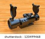 collimator gunsight | Shutterstock . vector #120499468