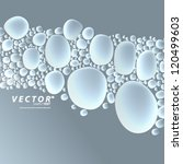 vector design   eps10 floating... | Shutterstock .eps vector #120499603