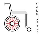 wheelchair   disability  ...   Shutterstock .eps vector #1205027623