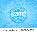 twine realistic sky blue mosaic ...   Shutterstock .eps vector #1205036776