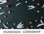 Black Christmas Table...