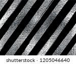 silver pattern. abstract argent ... | Shutterstock .eps vector #1205046640