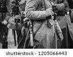 german military ammunition of a ... | Shutterstock . vector #1205066443