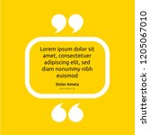remark quote text box poster... | Shutterstock .eps vector #1205067010
