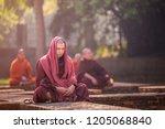 varanasi  india   march 24 ... | Shutterstock . vector #1205068840
