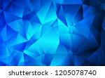 dark blue vector texture in...   Shutterstock .eps vector #1205078740