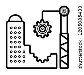 architecture icon vector | Shutterstock .eps vector #1205085433