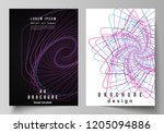 vector layout of a4 format...   Shutterstock .eps vector #1205094886