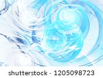 bubble and wave. modern...   Shutterstock . vector #1205098723
