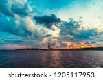 10 june 2018  istanbul turkey ... | Shutterstock . vector #1205117953