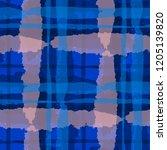 kilt texture. seamless grunge... | Shutterstock .eps vector #1205139820