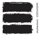 grunge paint stains.grunge... | Shutterstock .eps vector #1205143249