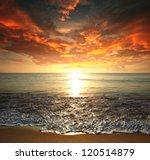 sea sunset | Shutterstock . vector #120514879