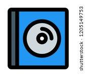 cd inside case   Shutterstock .eps vector #1205149753