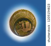Little Planet Rendering A Landscape - Fine Art prints