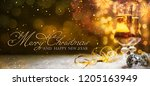 christmas and new year holidays ... | Shutterstock . vector #1205163949