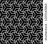 seamless  polygonal pattern.... | Shutterstock .eps vector #1205165863