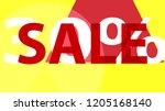sale banner. off poster design. ... | Shutterstock .eps vector #1205168140