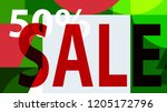 sale banner. off poster design. ... | Shutterstock .eps vector #1205172796